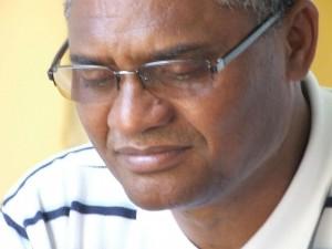 Monteiro colabora com a parte espiritual no presídio em Lomé, onde está há mais de um ano detido