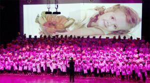 Cerca de 420 crianças participaram do festival