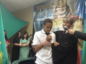Ruan decidiu conhecer a IASD através dos professores e amigos da Escola Adventista.
