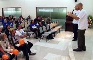 Primeiro encontro de surdos e intérpretes da Paulistana