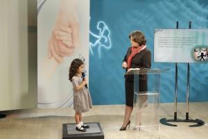 Gravações envolveram, inclusive, crianças para ilustrar melhor os ensinamentos