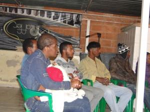 """""""Hoje nós temos pessoas que se libertaram das drogas, sem a clínica, só com o projeto e orientações passadas aqui"""", diz Martins, criador do projeto."""