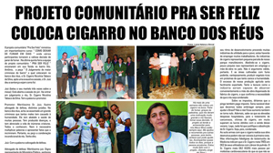 Mídia local tem destacado as ações realizadas pelos estudantes de teologia.