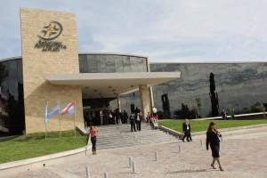 Jovens da UAP fizeram um programa especial para os delegados da Comissão com foco na missão