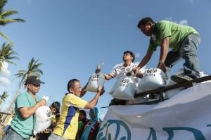 Cooperação continua, mas doações ainda ajudam a minimizar efeitos do tufão na região