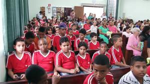 IASD de Cubatão ficou lotada para as comemorações