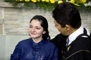 Muitas pessoas entregaram a vida a Jesus por meio do batismo