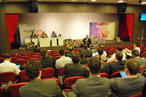 A tradicional reunião administrativa inaugurou o Espaço Cultural Irineu Stabenow