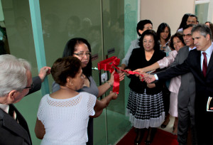 Cerimônia de inauguração da IASD Jardim Utinga