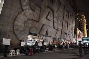 Ação acontece às sextas em frente ao prédio da TV Gazeta, na Avenida Paulista