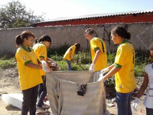 Entre as atividades do Missão Calebe, estão os projetos comunitários e assistenciais