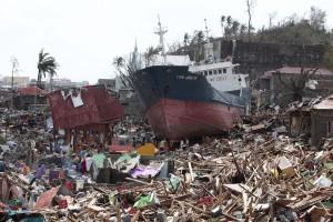 Regiões devastadas do país asiático estão sendo reconstruídas