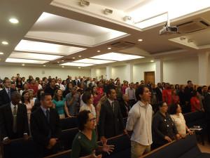 Participantes do Encontro do Ministério Pessoal