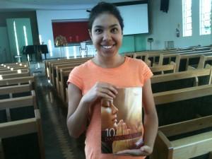 Para a jovem Juliana Viana, participar do projeto fez a diferença em muitos aspectos da vida dela.
