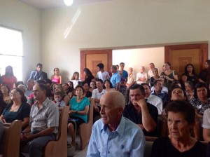 Quase 150 pessoas estiveram presentes na inauguração.
