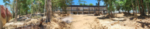 Futuro prédio administrativo do Colégio Adventista de Macaé. (Foto: Artur Buitrago)
