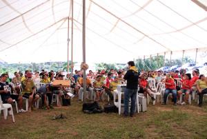 Cerca de 700 pessoas participaram do curso.