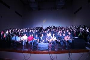 Concerto musical reuniu mais de 200 vozes