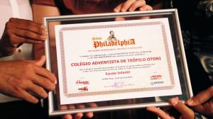 Escola adventista prêmio Philadélphia