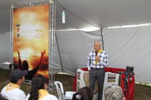 A sede de acampamento recebeu o nome do pastor josé Maria Barbosa Silva em sua homenagem