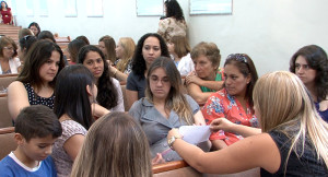 O objetivo do evento foi reabastecer a energia das mulheres