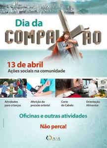 Além das ações sociais, adventistas convidarão pessoas para o evangelismo de Semana Santa