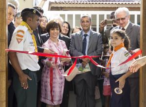 Inauguração do novo templo no Jardim Boa Vista. (Foto Annelies Woerle)
