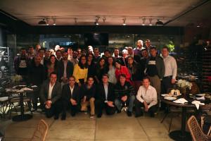Cerca de 50 pessoas se reuniram em uma pizzaria na capital paulista para pensar em novas formas de evangelismo