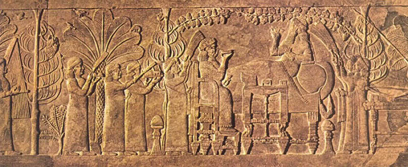rei Assurbanipal (668-627 a.C.)