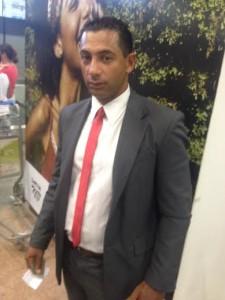 Tonico, pouco antes de embarcar de volta para SP: rotina de testemunhos por todo o Brasil