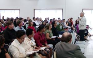 Evento aconteceu no Centro de Treinamento em Cotia, SP.